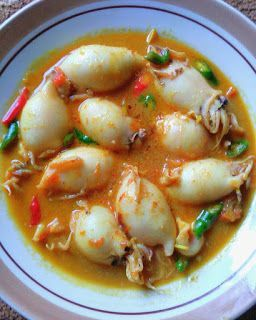 Resep Masakan Nusantara Gulai Cumi Isi Telur Puyuh Resep Masakan Masakan Makanan Dan Minuman