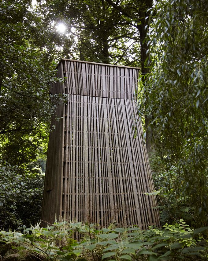Louisiana Museum Humlebk Denmark Structure in the