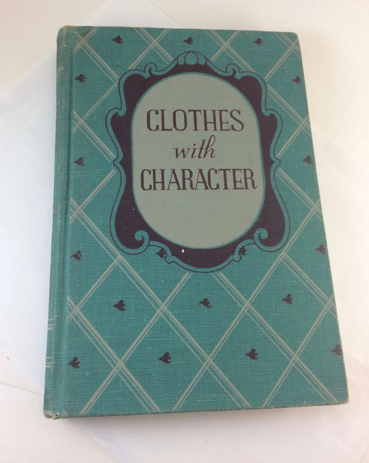 Clothes with Character 1940s fashion tips history American Home economics textbook by TheWabiSabi on Etsy