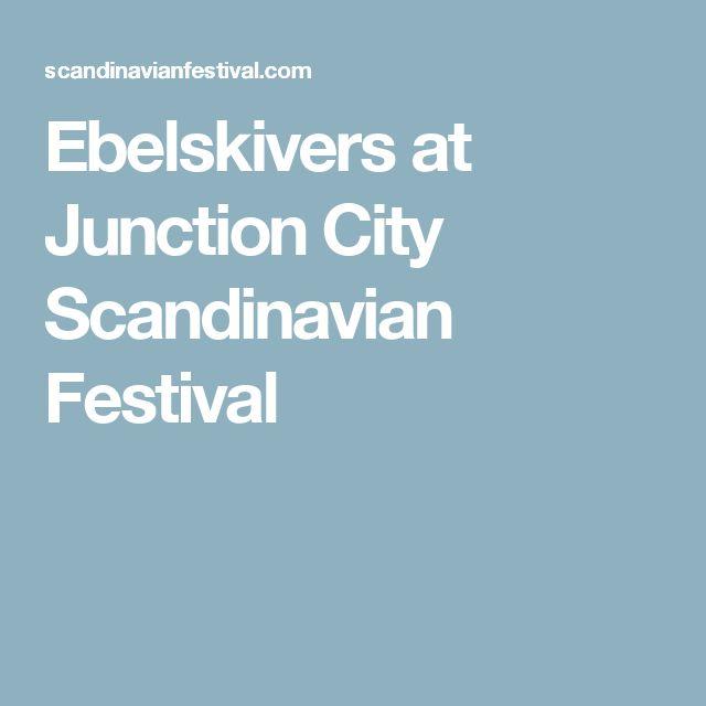 Ebelskivers at Junction City  Scandinavian Festival