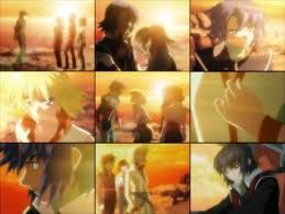 Asucaga Scene from Gundam Seed Destiny Episode 24 & 25