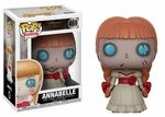 Annabelle (Horror S4) Funko Pop! These characters are horrific!Our newest series of Pop! Horror is here and ready to terrify you.This series features Carrie in her iconic bloody prom dress;  From the horror classic Psycho, the infamousNorman Bates, dressed as mother;Tiffany, Chucky's frightening partner incrime from Bride of Chucky;Rounding out the series, from the Conjuring franchise,is the evil possessed doll, Annabelle!Look for the Bride of Chucky chase variant,Tiffany s