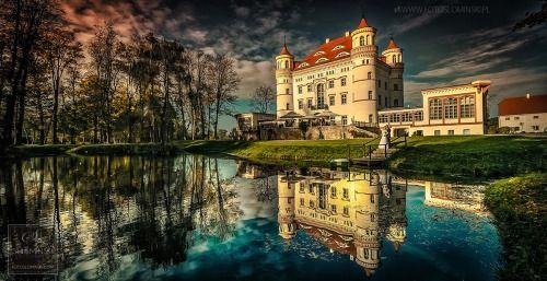 Fotografia #ślubna - #sesja w Pałacu #Wojanów #fotograf...