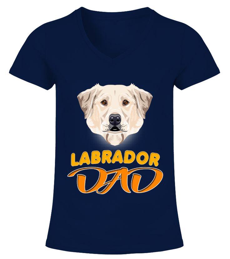 Labrador Dog Breed Dad  Funny Labrador T-shirt, Best Labrador T-shirt
