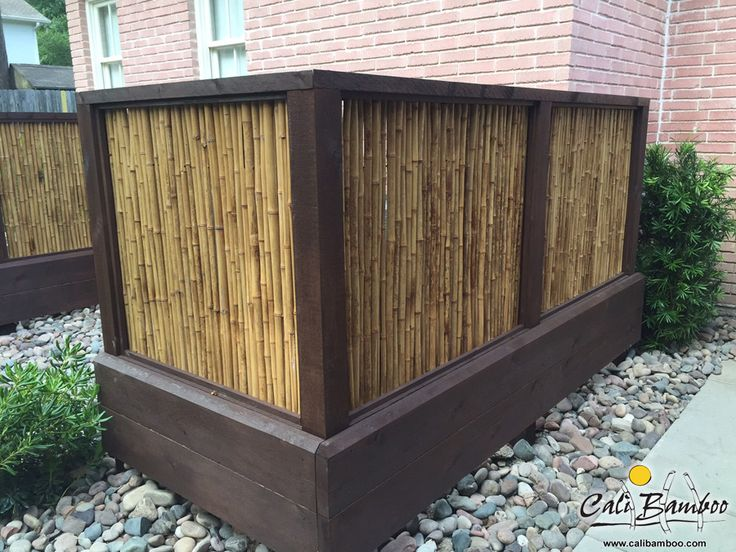 natural bamboo fence from cali bamboo