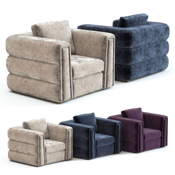 3d Model The Sofa And Chair Co Cloe Armhair With Images Sofa Chair