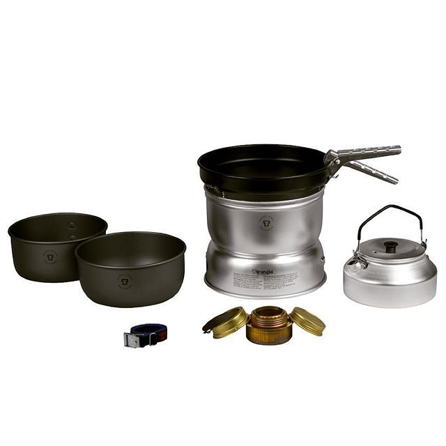 Trangia alcohol stove. Suitable for groups of about 3-4 people. #scandinavian #outdoor #gear #stove #travel #trip #adventure #hiking #traveling #backpacking #camping #kamperen #vacation #vakantie #cooking #nature #outdoorlife #weloveoutdoor #trangia