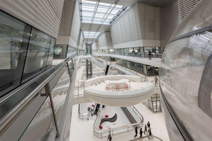 Centro de Investigación y Desarrollo Hankook, Daejeon, Corea del Sur - Foster + Partners - © Nigel Young/ Foster + Partners