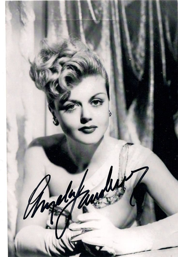 Autograph - angela-lansbury Photo