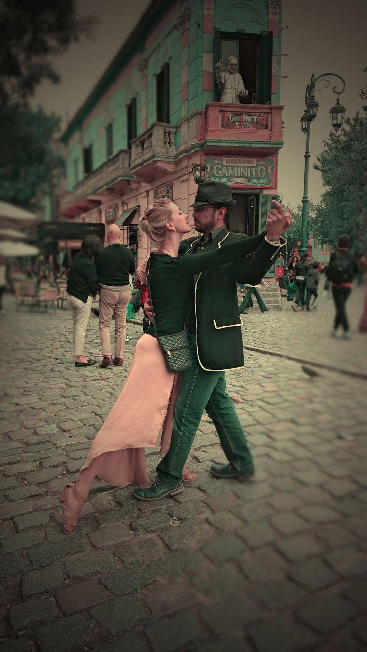 Tango en Caminito, Buenos Aires-Argentina