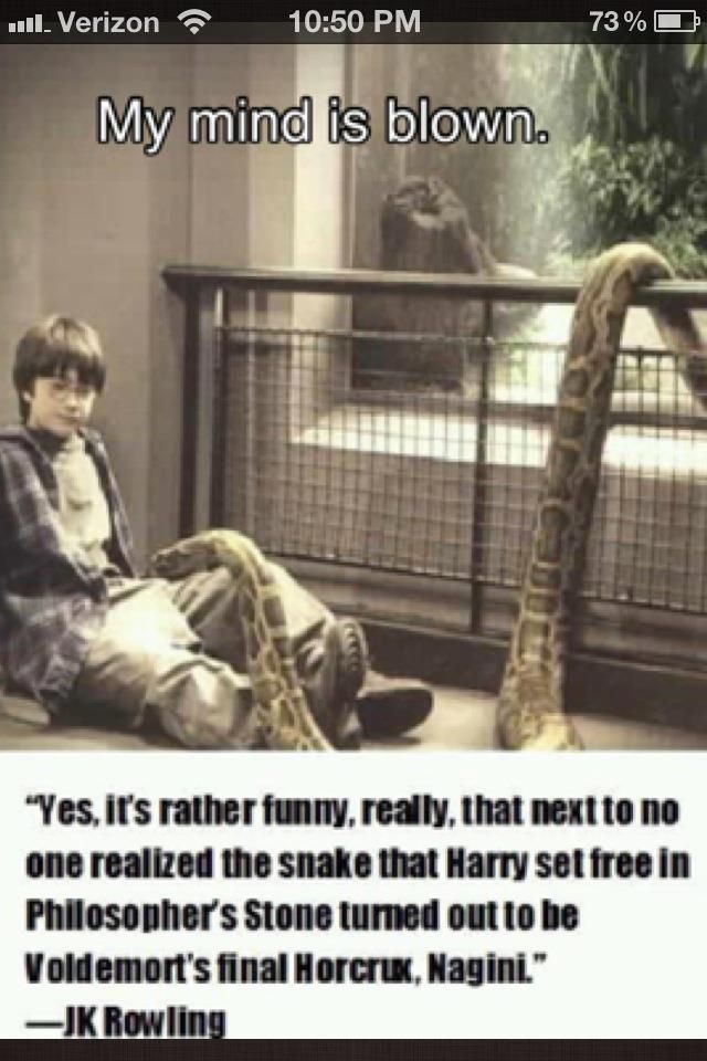 .: Good Constrictor, Mind Blown, Mindblown, Wait What, Harrypotter, Book, Harry Potter, Holy Cows, The Zoos