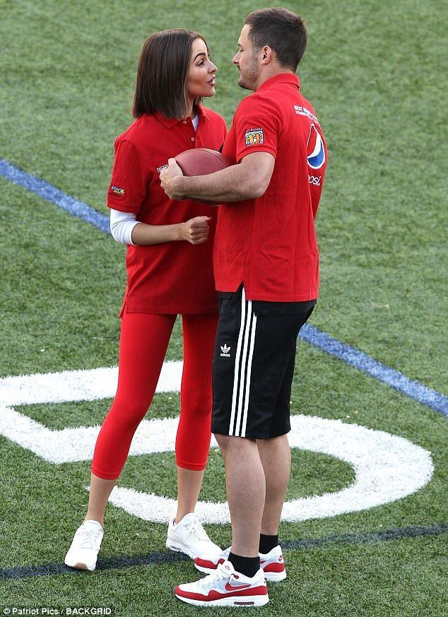 So in love: She started dating two-time Super Bowl champion in the spring of 2016...