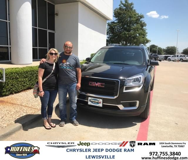 Congratulations Leann And Nathan On Your Gmc Acadia From Kelly Carlin At Huffines Chrysler Jeep Dodge Ram Lewisville Https Chrysler Jeep Jeep Dodge Jeep