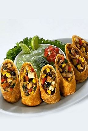 Find This Pin And More On Tex Mex Recipes By Sixdollarfamily Southwestern Egg Rolls