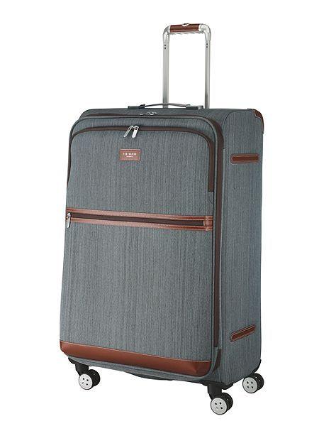 Falconwood 4 wheel large suitcase