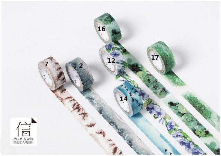 Aliexpress.com : 24 Arten 4 Jahreszeiten Farbfeld Washi Klebeband Klebeband DIY Dekoration Scrapbooking Aufkleber Label Masking Klebeband Schreibwaren von verlässlichen band kit-Lieferanten auf The starry sky stationery kaufen