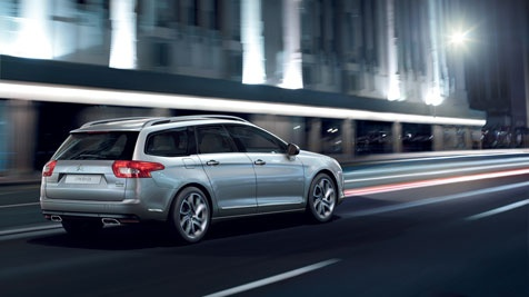The Citroën C5 Tourer has superb soundproofing to keep you and your passengers travelling smoothly.