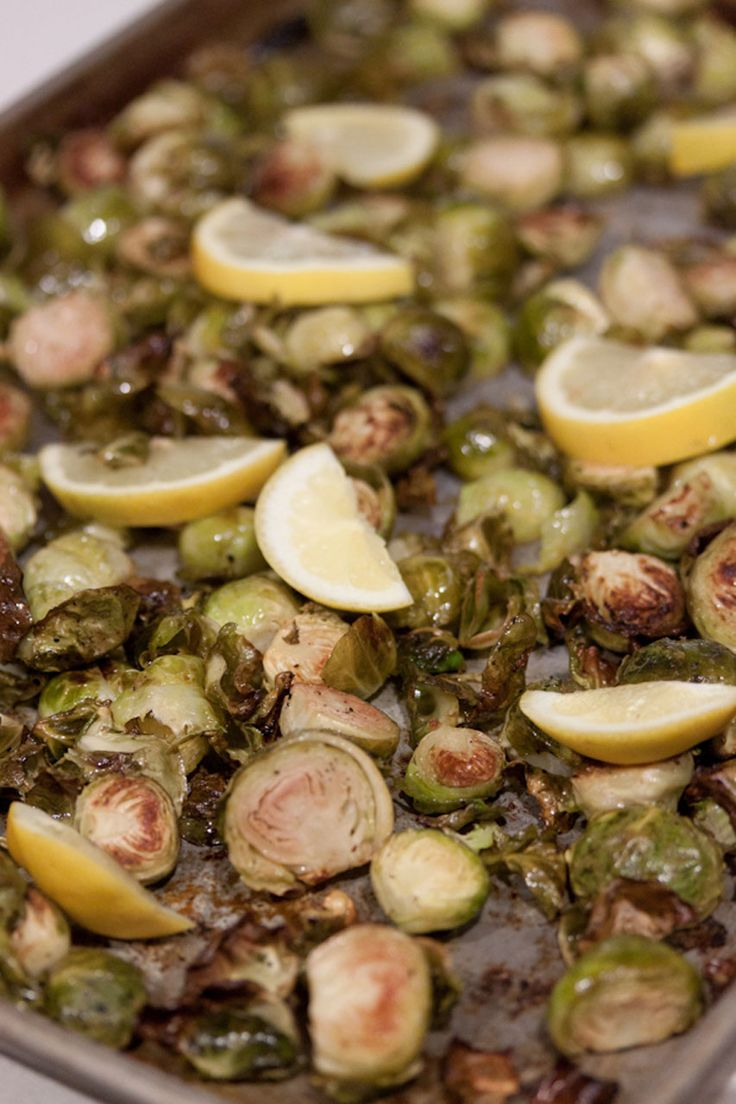 crispy lemon roasted brussels sprouts roasted brussels sprouts roasted ...