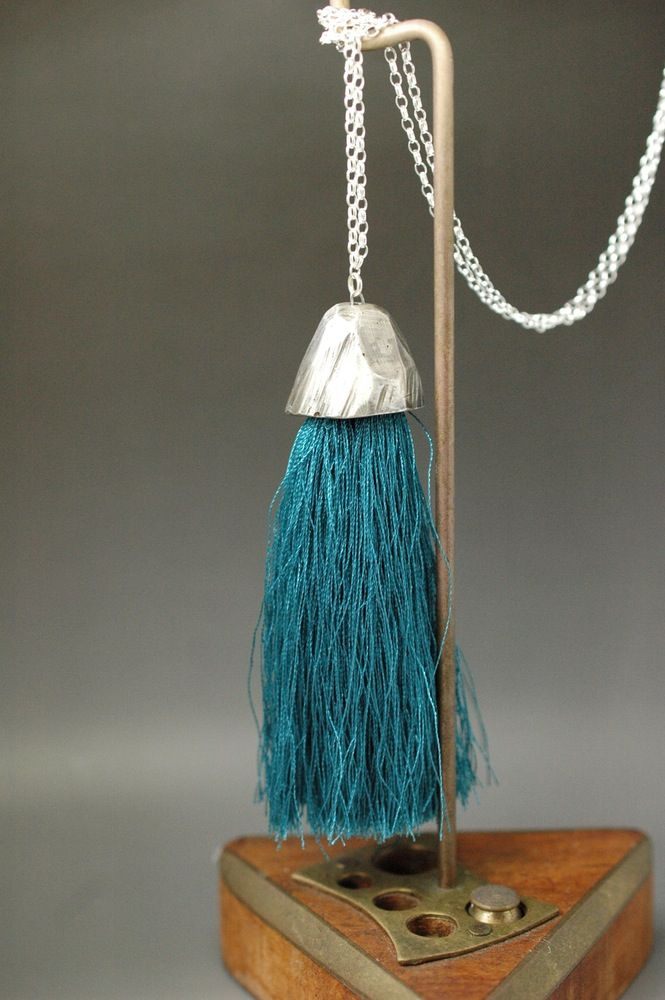 Mountain tassle necklace