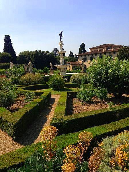 Giardino della Villa Medicea di Castello Firenze