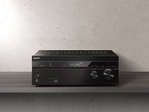 Sony STR-DN1080 7.2 CH 4K UHD AV Receiver with Dolby Atmos and Multi-Room - Black: Amazon.co.uk: TV