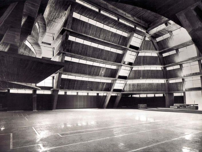 Saverio Busiri Vici / Chiesa della Visitazione, Roma / 1965
