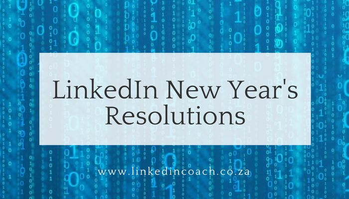 Over the next few days we will look at some activities you can take on LinkedIn to get your year started well. Many of my coaching […]