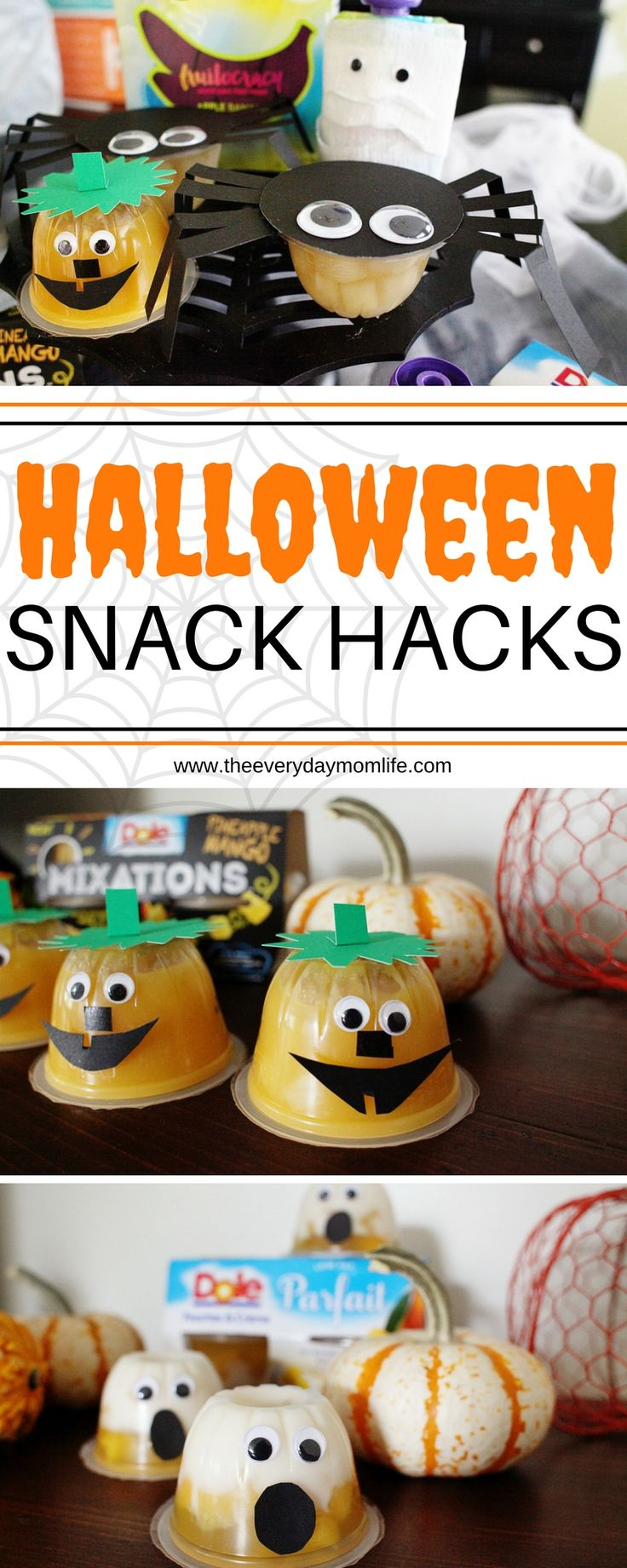 Halloween Snack Hacks with Dole - The Everyday Mom Life