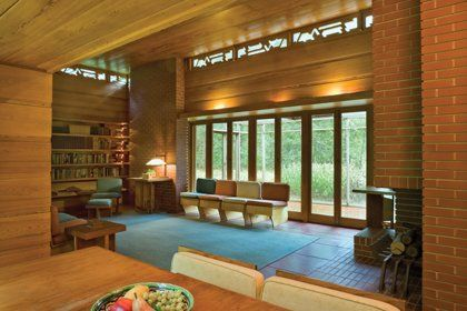17 Best Images About Frank Lloyd Wright On Pinterest Usonian Minneapolis And Interiors
