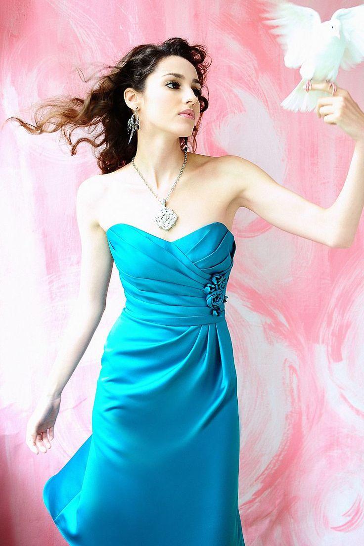 137 best bridesmaids images on pinterest knee length a line satin flowers pleats bridesmaid dress ombrellifo Choice Image