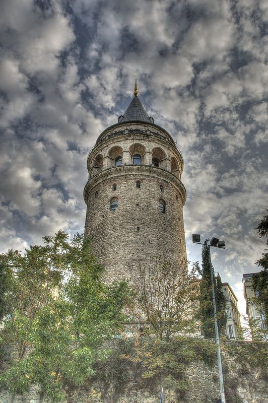 Galata Tower- Istanbul, turkey HDR photography