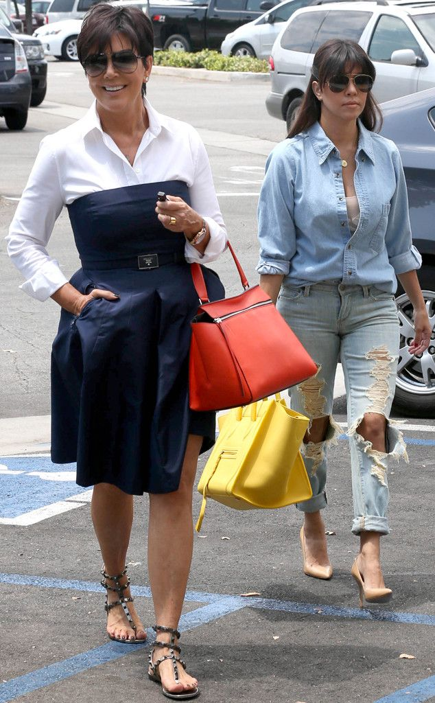 Kris Jenner  Kourtney Kardashian from The Big Picture: Today's Hot Pics! | E! Online