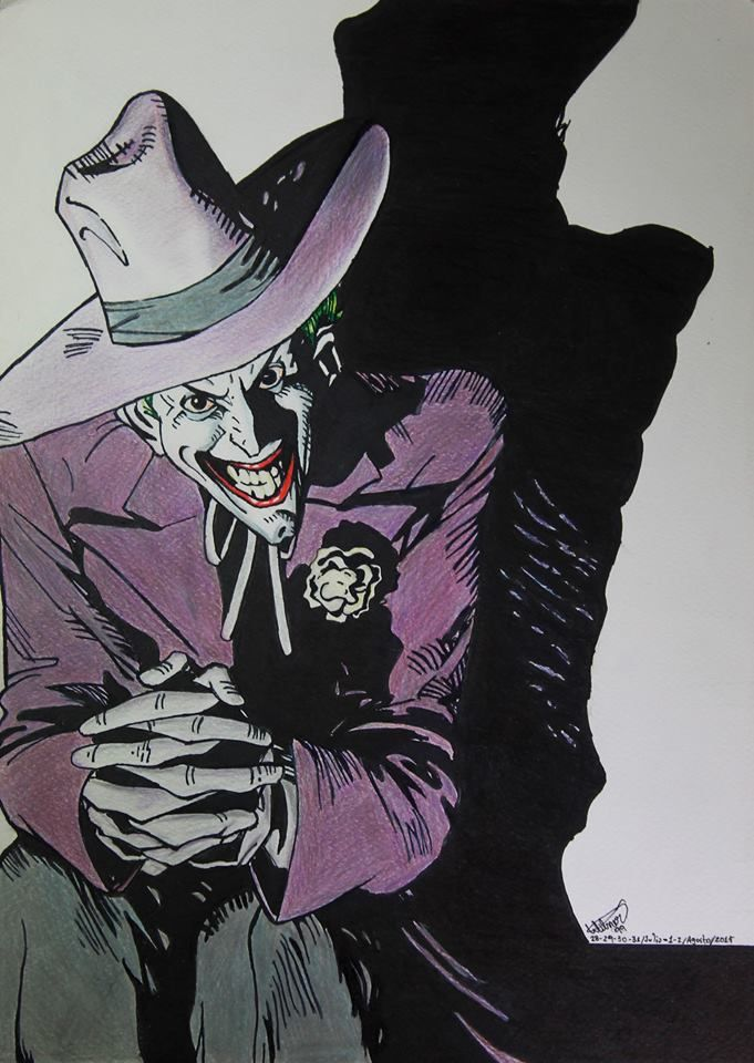 The Joker- The Killing Joke 7 Hours - 6 Days