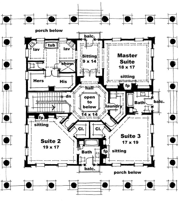 Home plans homepw76733 4 500 square feet 3 bedroom 3 for 4500 sq ft house plans