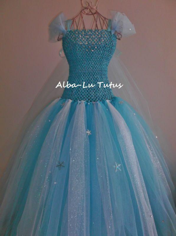 Elsa Inspired Frozen Tutu dress Party Birthday pageant | eBay