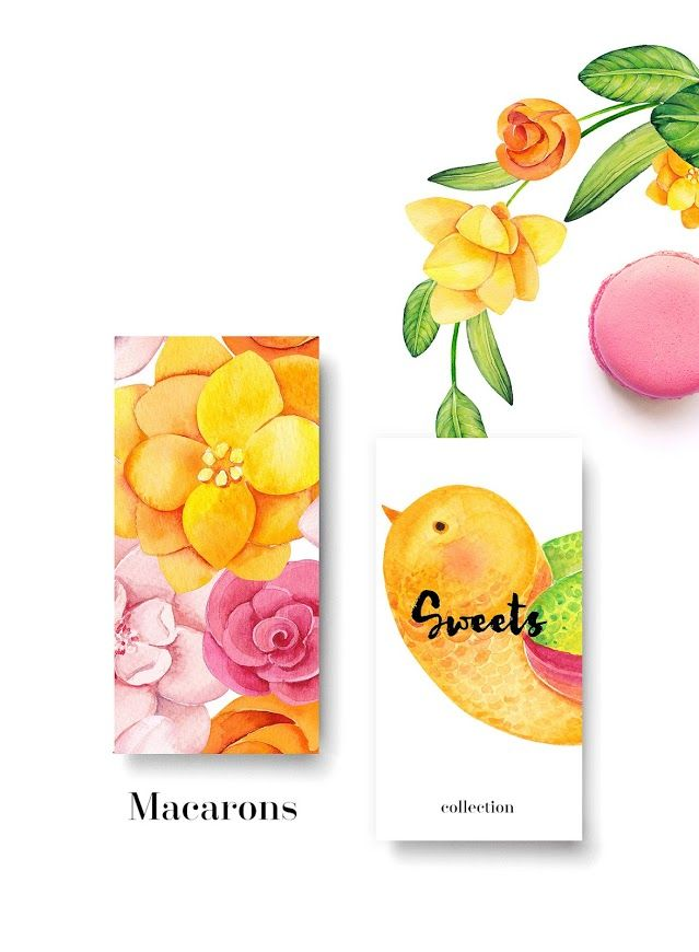 Life Is Sweet Macarons (Concept) on Packaging of the World - Creative Package…