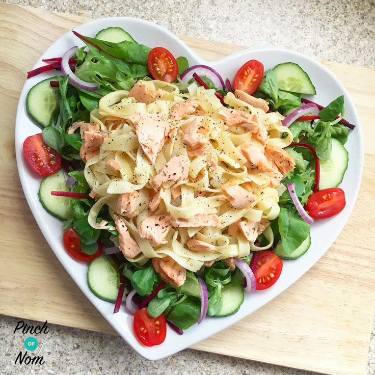 Syn Free Lemon Pepper Salmon Tagliatelle | Slimming World