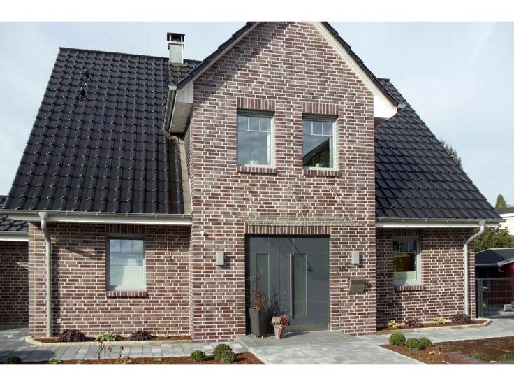 Verblender / Klinker Verblender K497 / Klinker / Fassade / rot bunt