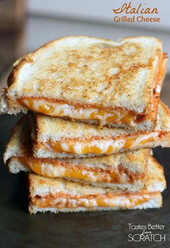 Italian Grilled Cheese Recipe on Yummly