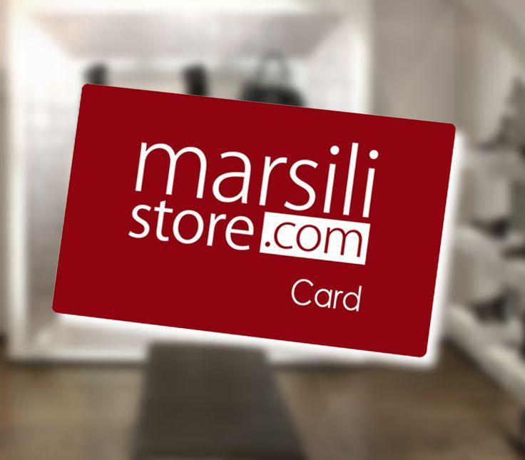 ******************** GRANDI NOVITA' ******************** La nostra nuova CARD! Scopri come funziona >> http://www.marsilistore.it/promo-card.html e ACQUISTA ADESSO per ottenere un nuovo #sconto! #promo #vip #soloilmeglio #qualità