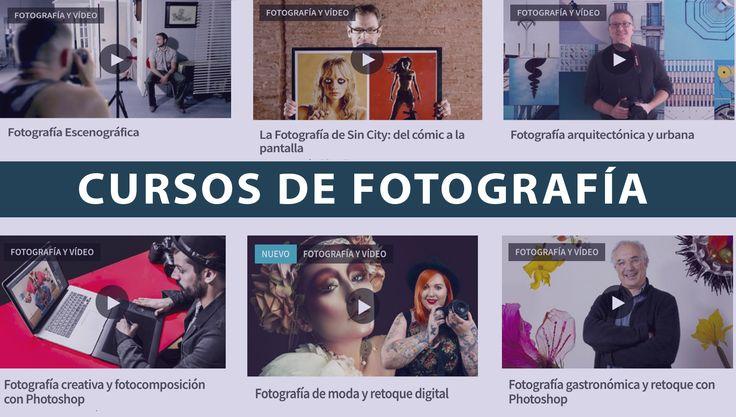 Fotografía urbana, de moda, arquitectónica, digital y mucho más. Esta es la agenda más completa de cursos virtuales de fotografía para expertos.