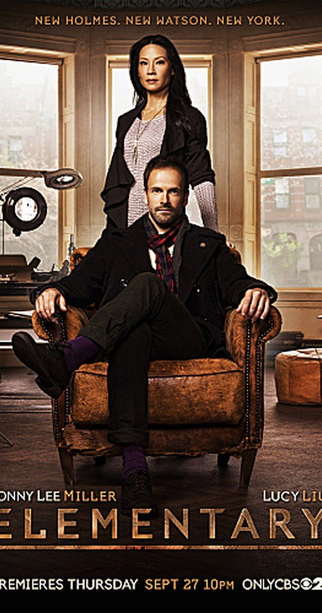 Created by Robert Doherty.  With Jonny Lee Miller, Lucy Liu, Aidan Quinn, Jon Michael Hill. A modern take on the cases of Sherlock Holmes, with the detective now living in New York City.