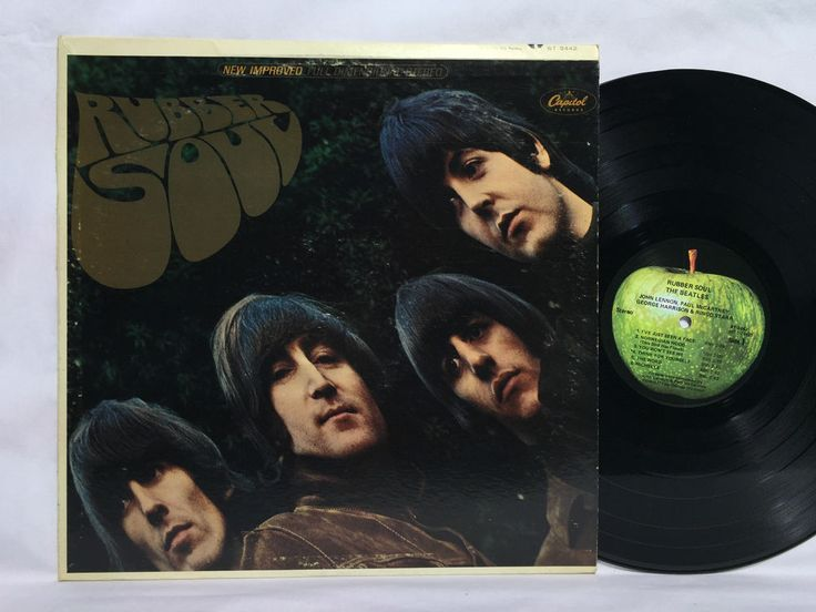 The Beatles Rubber Soul Vinyl Record Lp St 2442 Apple