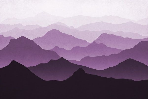 Purple Mountains Ii Wallpaper From Happywall Wallpapers Alps Wallpaper Mountains Wallmural Sunlight Wallmura Mountain Wall Painting Mountain Mural Mural