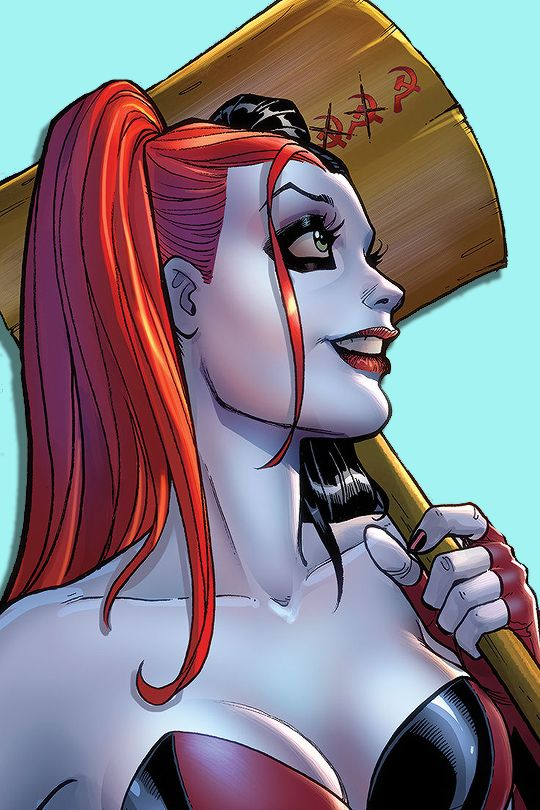 "harlxys: "" ""Harley Quinn's new 52 covers. "" """