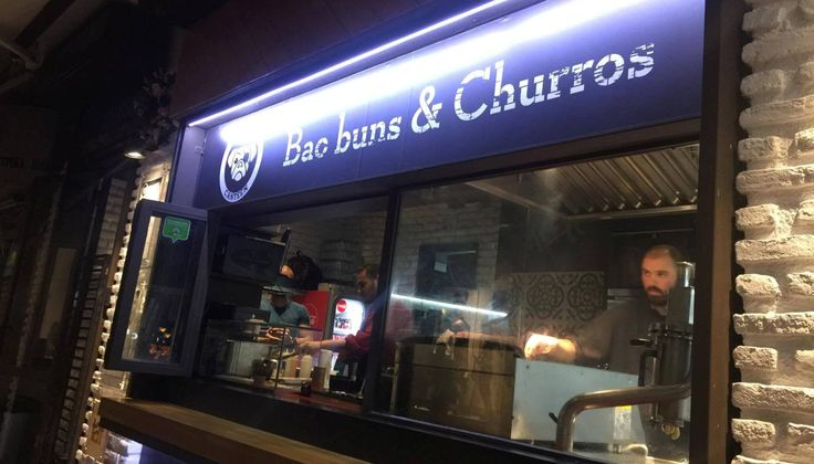 Baos & churros στο Χαλάνδρι από τον Γιώργο Βενιέρη και τον Σήφη Μανουσέλη …ή αλλιώς το street-food στα καλύτερά του!