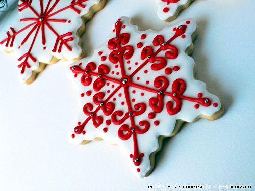 Στο SheBlogs δε κάνουμε απλά χριστουγεννιάτικα κουλουράκια... κάνουμε τέχνη... και σας δειχνουμε πως τα κάνουμε