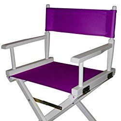 Director Chair Cover Kit Color: Purple