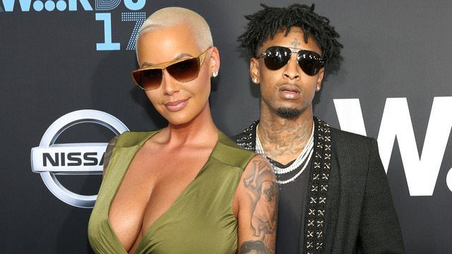 Amber Rose Gushes Over New Boyfriend 21 Savage: 'I'm So Thankful'