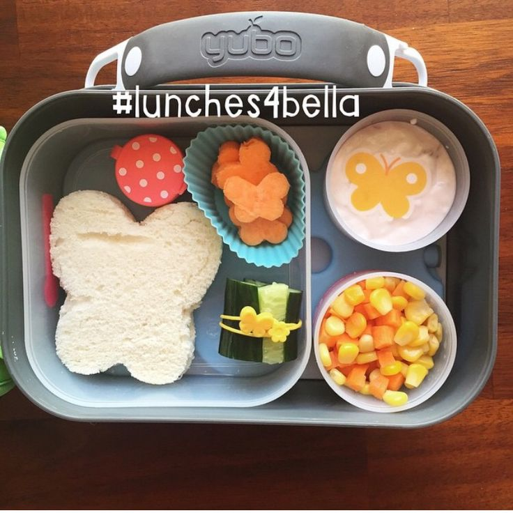 #lunches4bella Butterfly themed bento lunch in Yubo